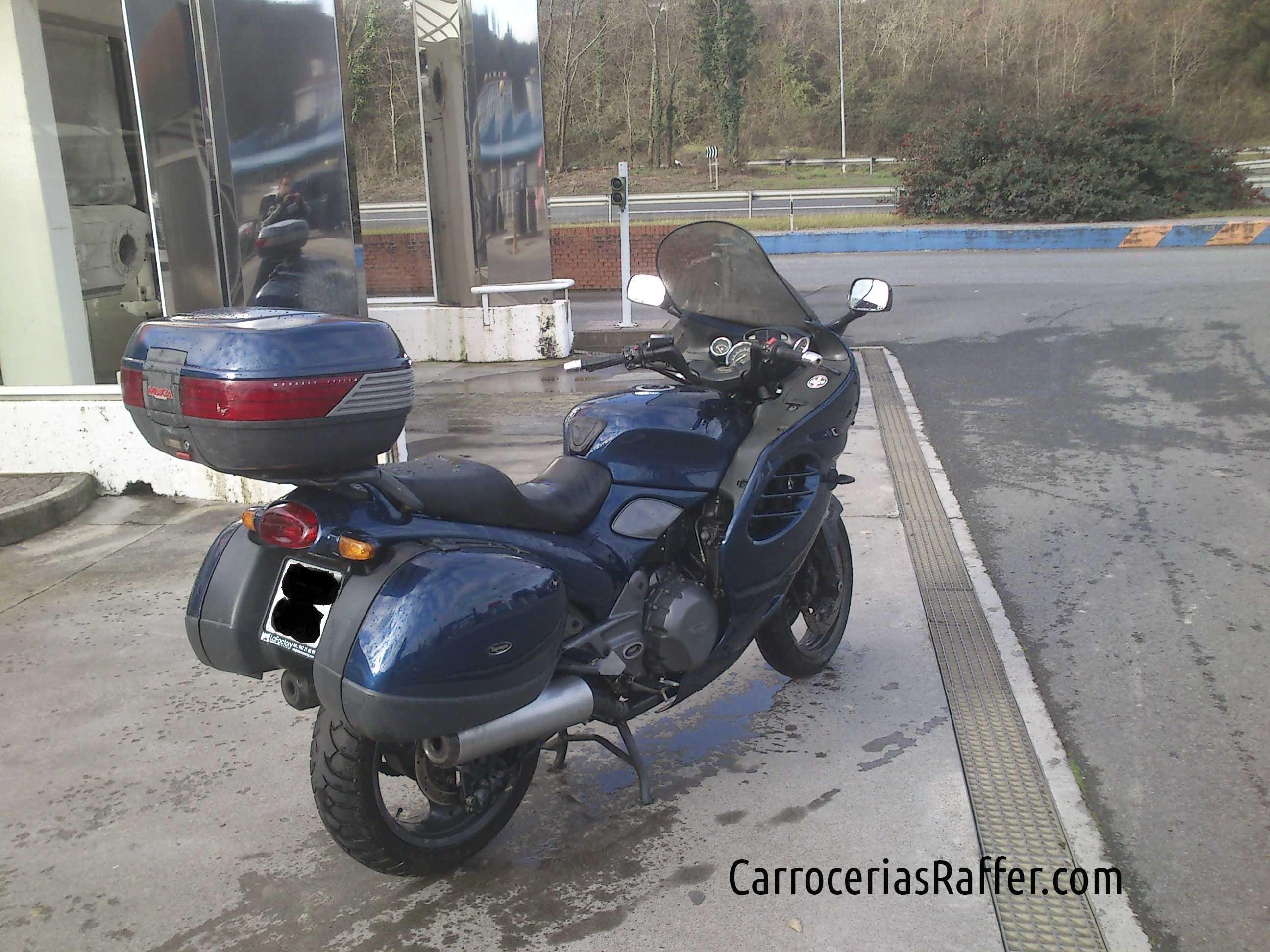 triumph moto pintada motocicleta