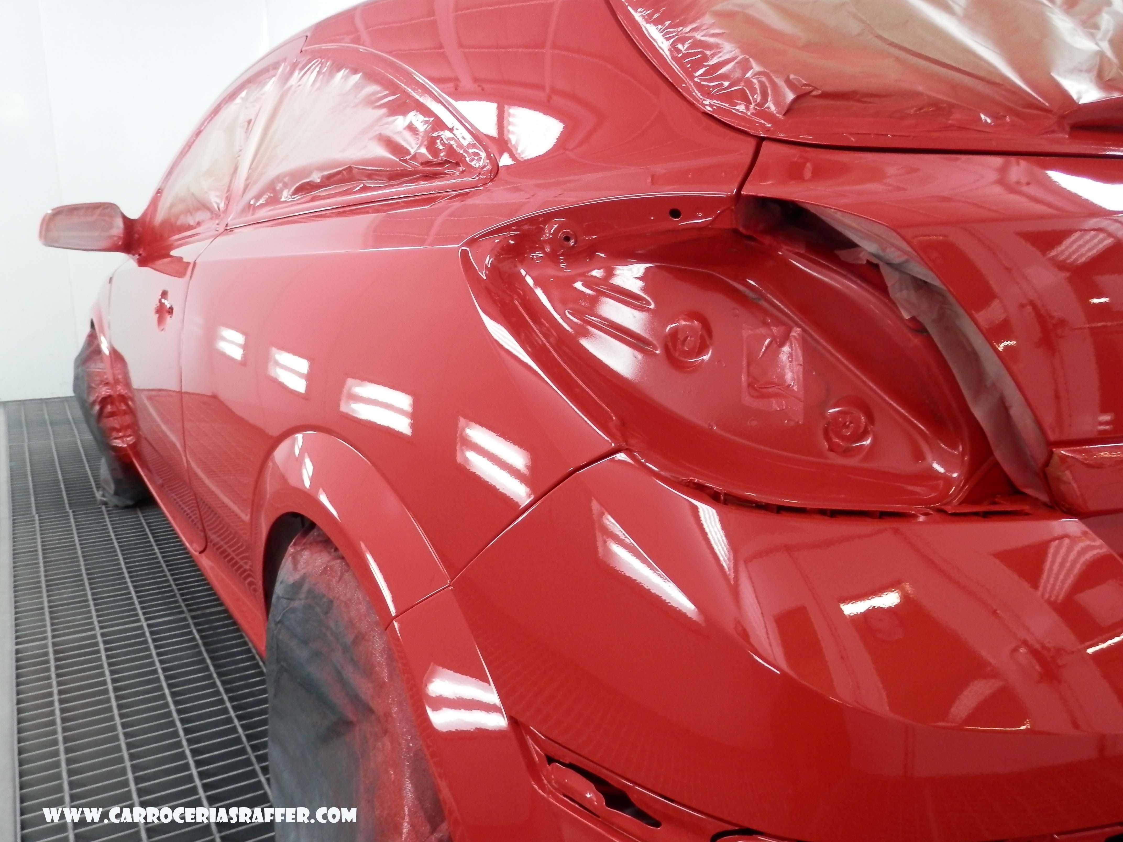 carrocerias raffer pintar coche entero opel astra