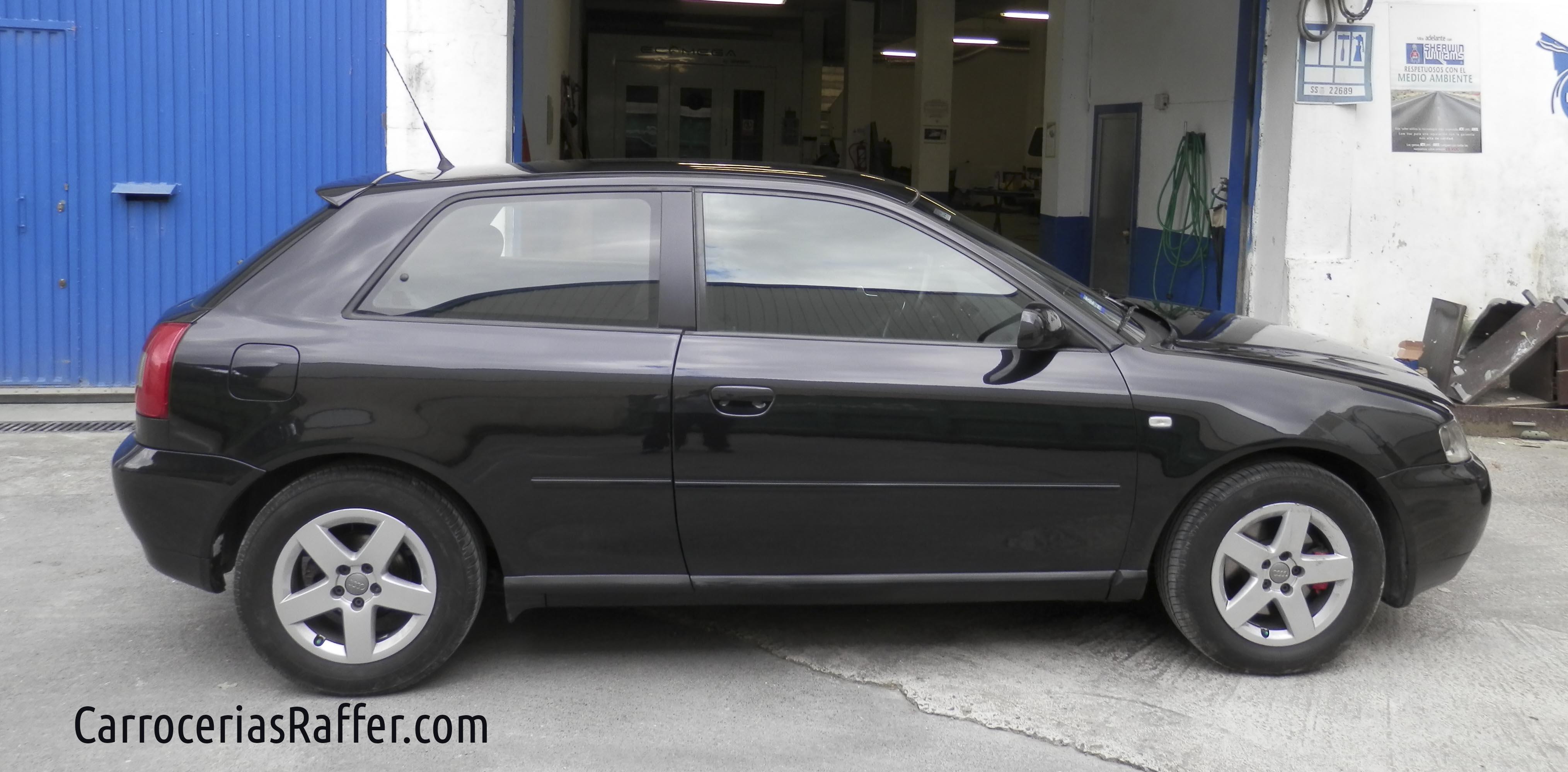 Nuevo lifting a este Audi A3 del año 2000.