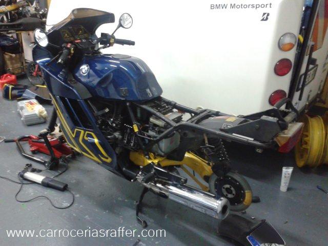 carrocerias raffer bmw k1 moto