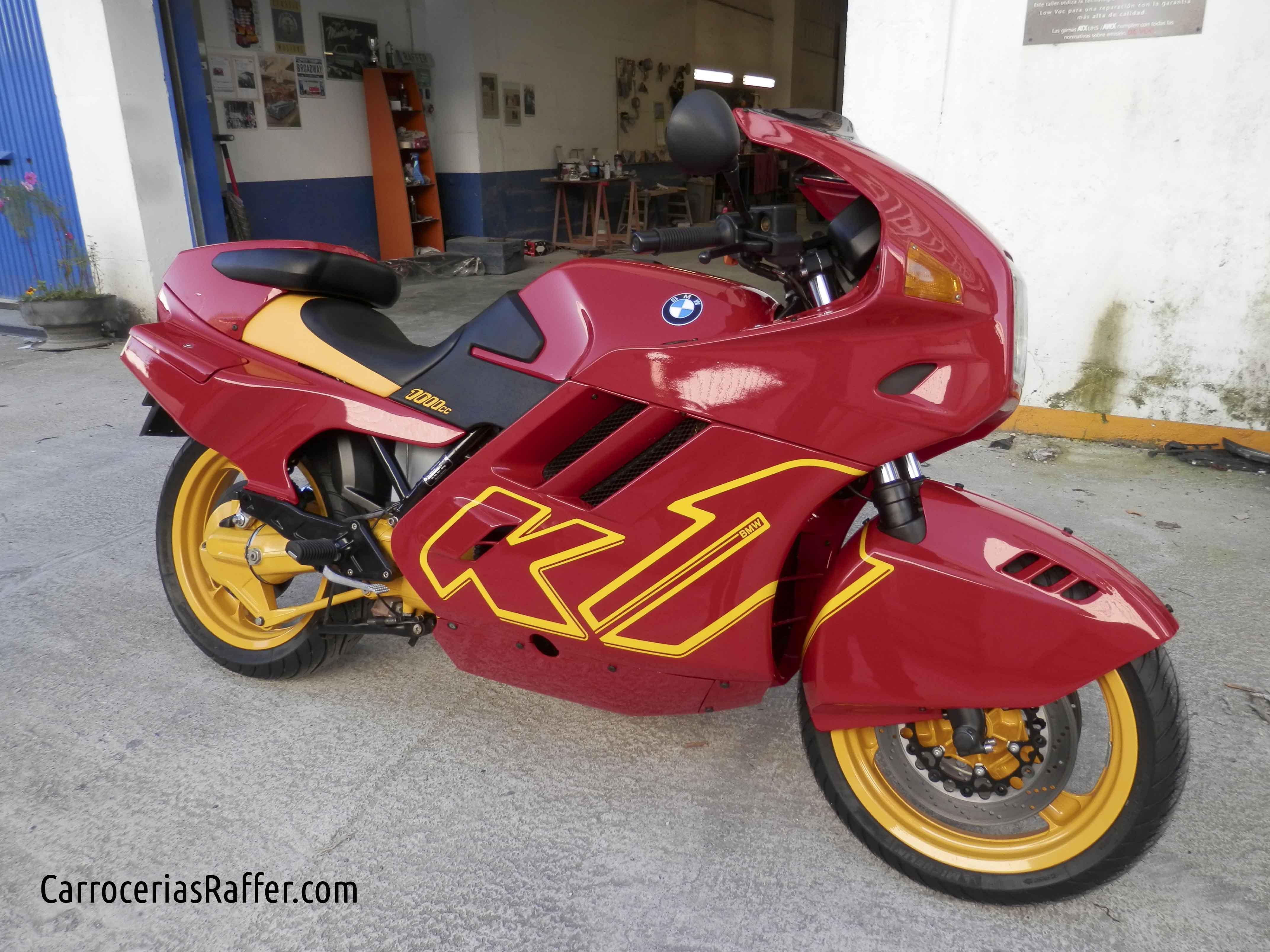 ¿Te gustan las motos? ¿Conoces la BMW K1?