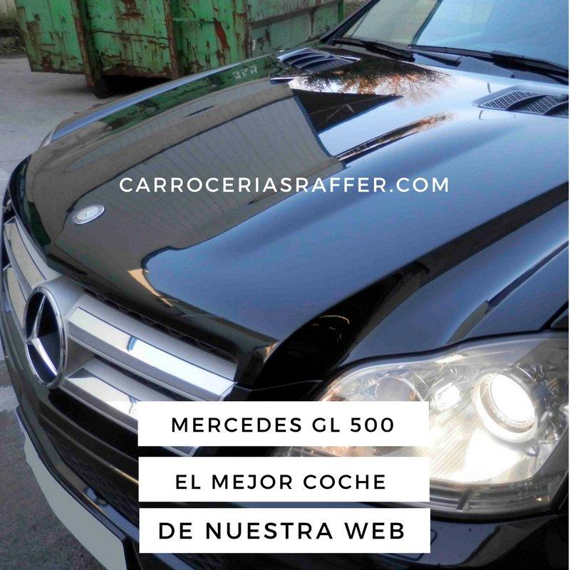 Pintado completo en HD – Alta Definición de Mercedes Benz GL500 ´2007