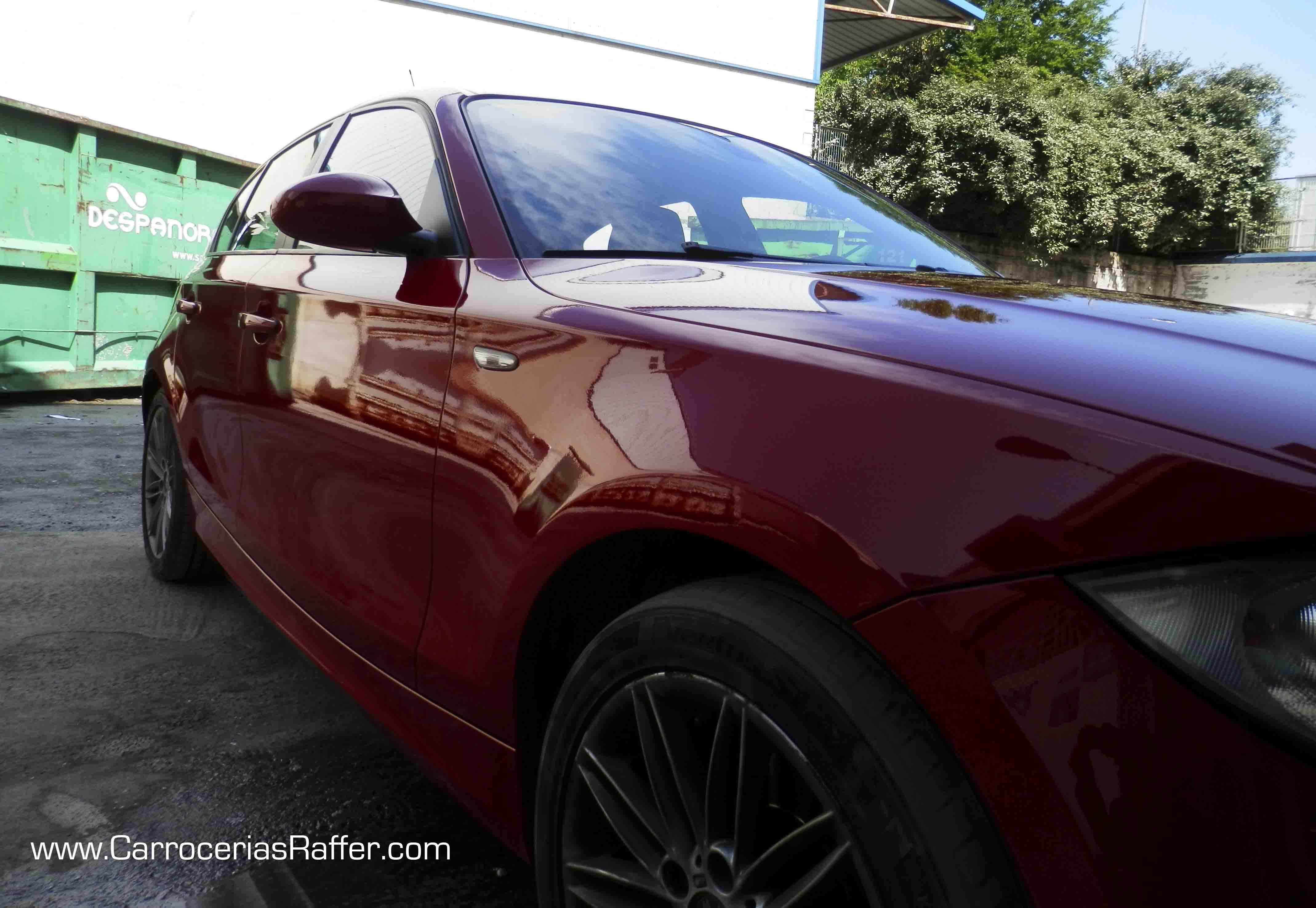 Pintar el coche es otra manera de estrenarlo: BMW Serie 1