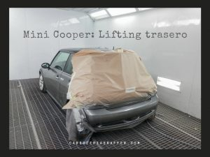 carrocerias raffer mini cooper paragolpes trasero