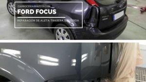 carrocerias raffer hernani guipuzcoa ford focus reparacion chapa