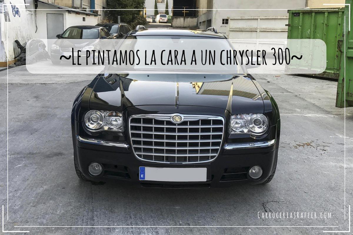Le Pintamos La Cara A Un Chrysler 300c Touring