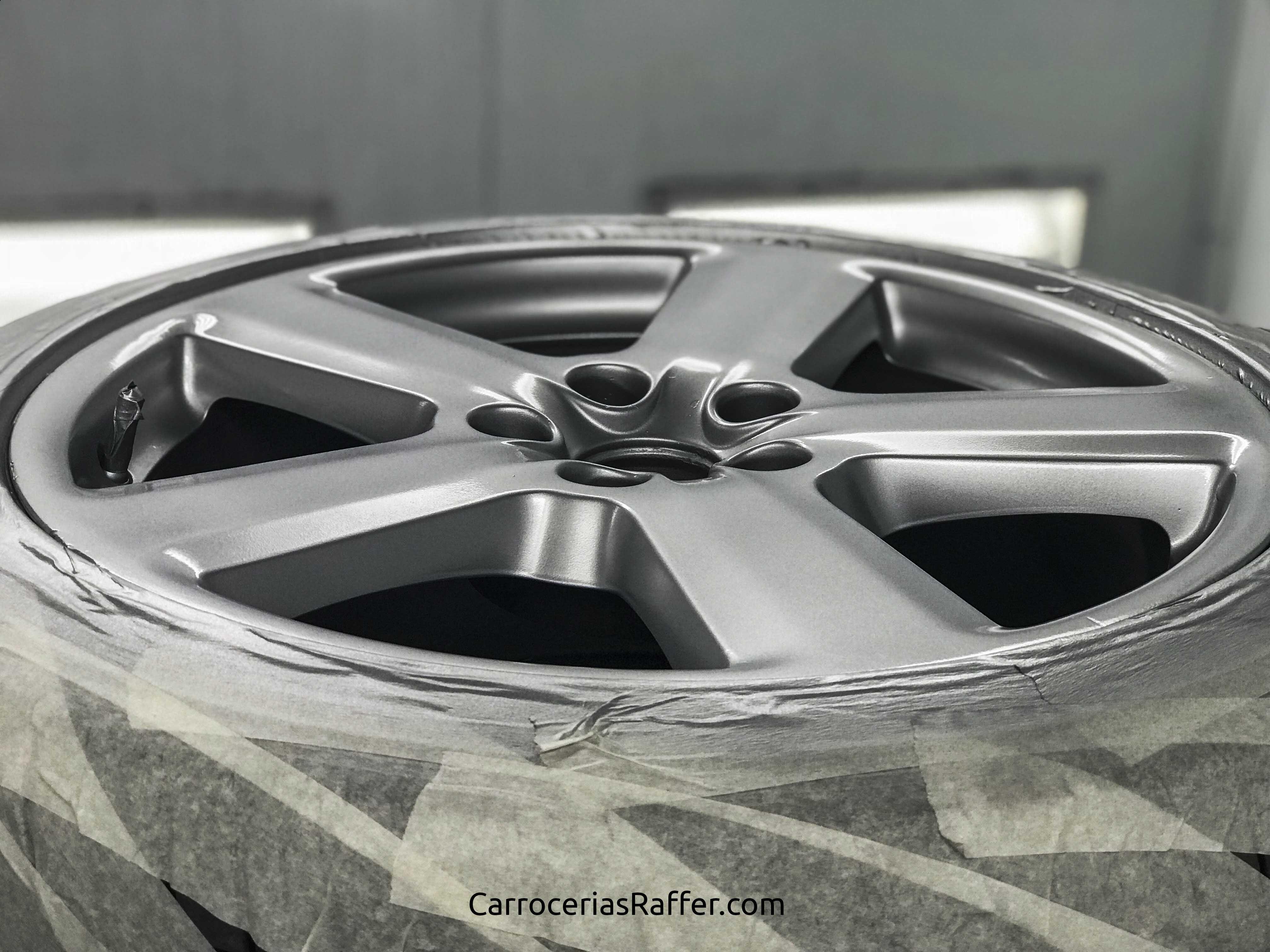2 pintar ruedas carrocerias raffer hernani gipuzkoa