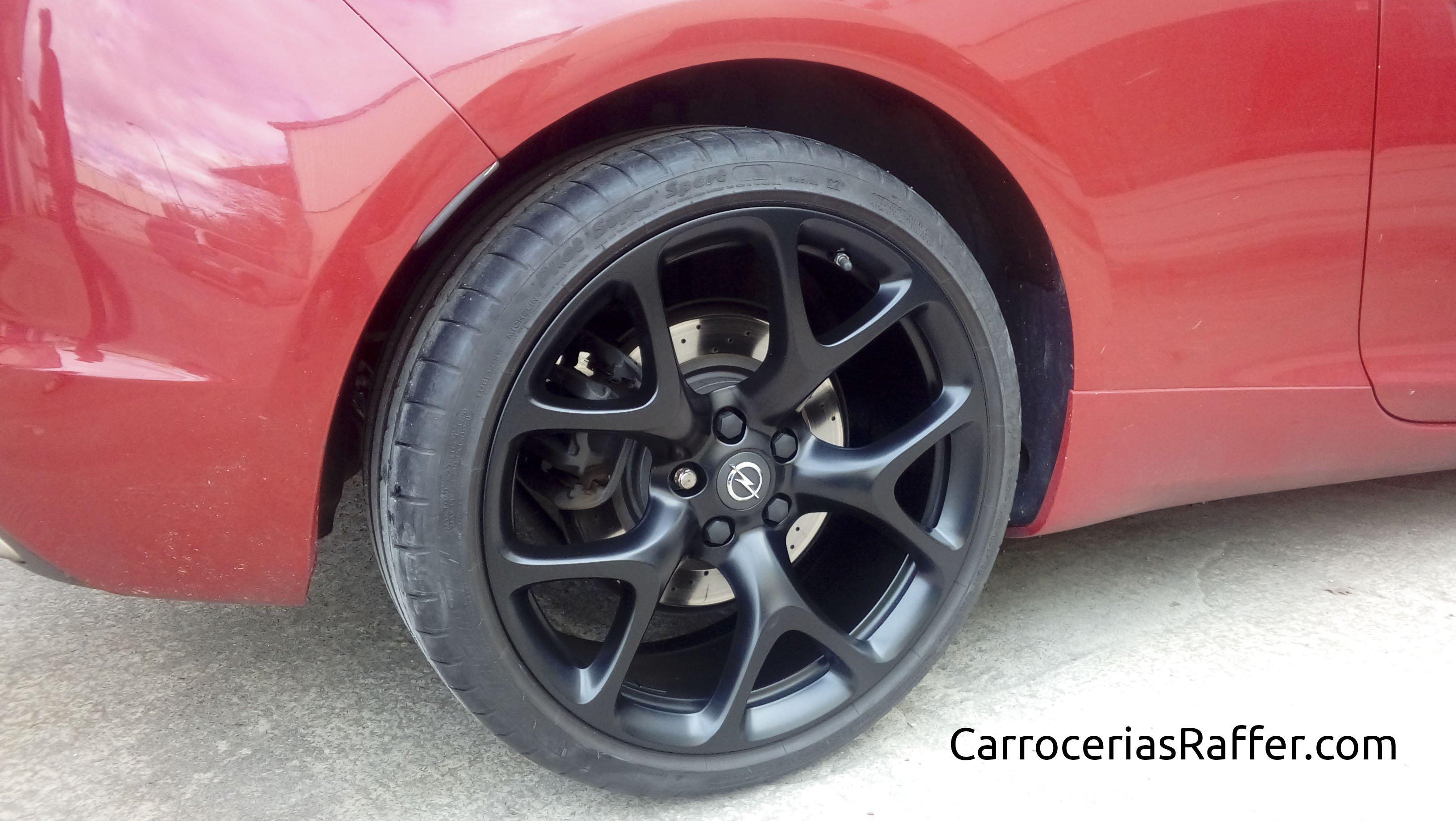 4 pintar ruedas carrocerias raffer hernani gipuzkoa