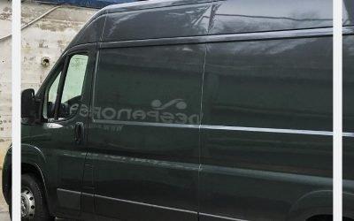 ¿Quieres pintar tu furgoneta?