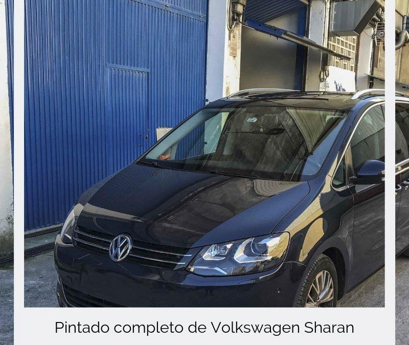Pintado completo de Volkswagen Sharan