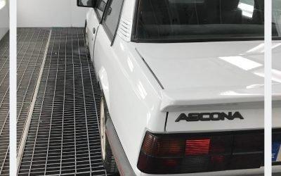 Opel Ascona | Pintamos un clásico germano
