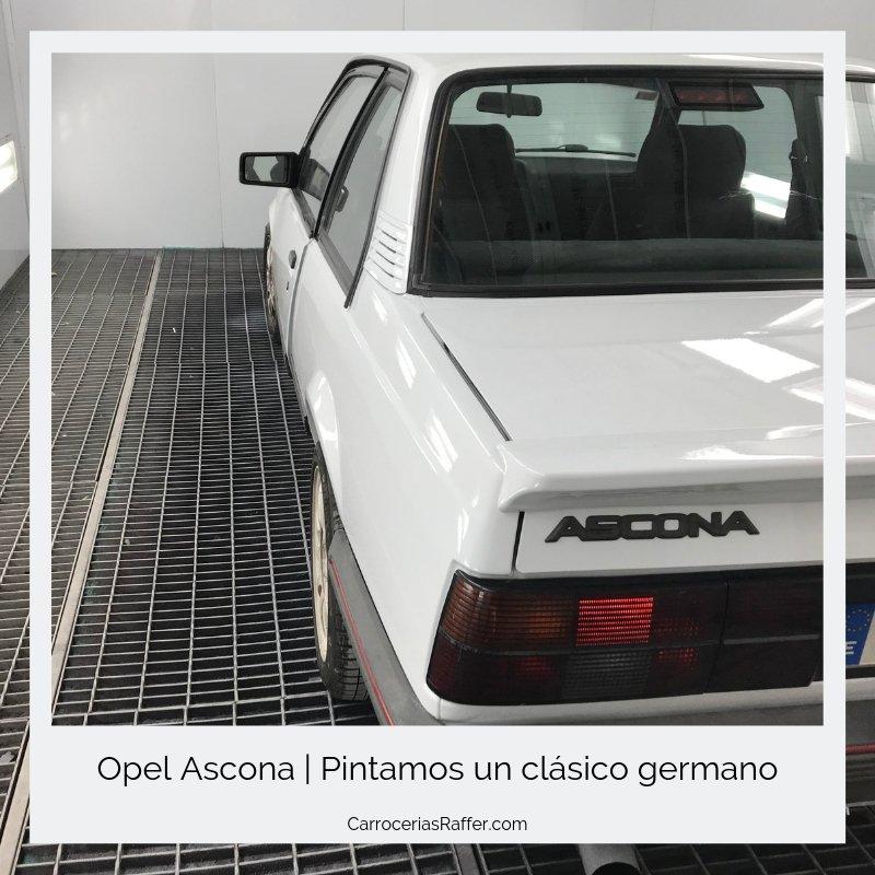opel ascona carrocerias raffer taller de chapa y pintura hernani donostia gipuzkoa