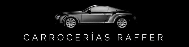 logo rectangular carrocerias raffer taller de chapa y pintura pintar coche en hernani gipuzkoa donostia