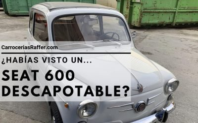 ¿Habías visto un SEAT 600 descapotable?