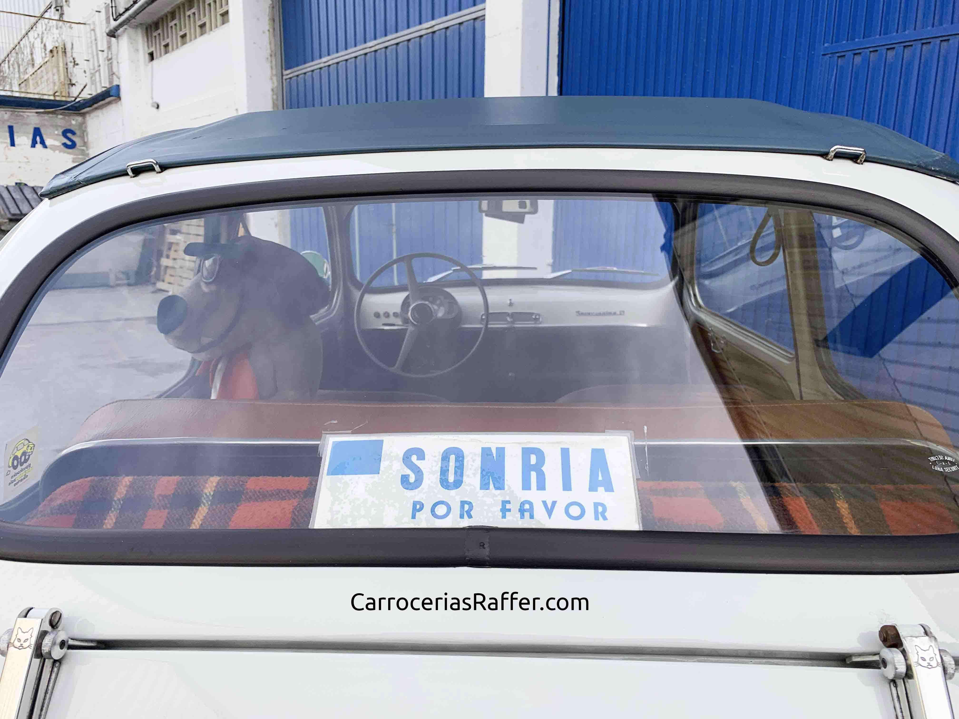 4 seat 600 descapotable carrocerias raffer hernani donostia