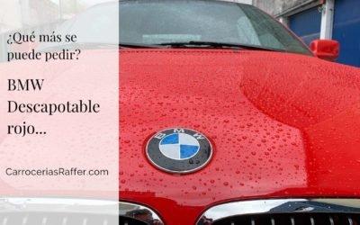 BMW Descapotable rojo. ¿Qué más se puede pedir?
