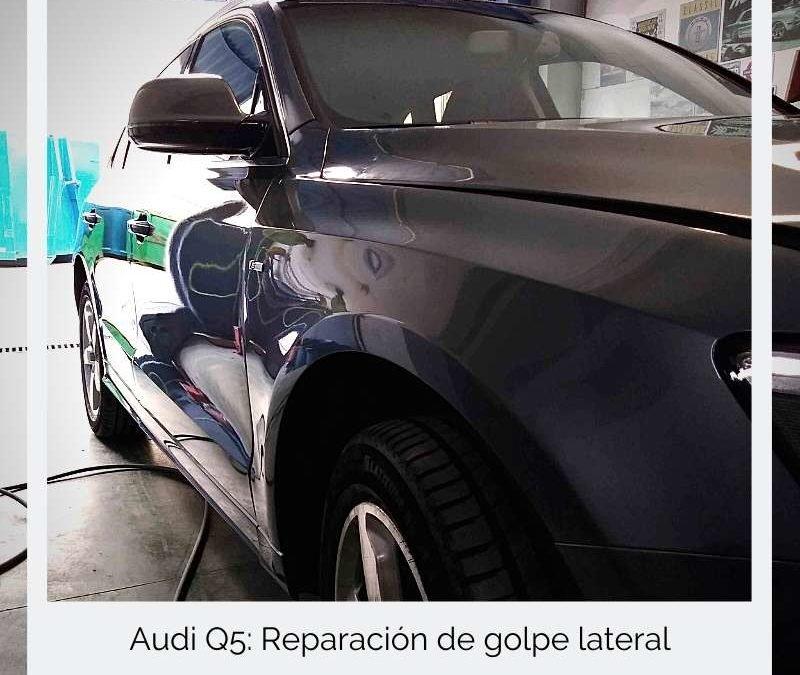 Audi Q5: Reparación de golpe lateral