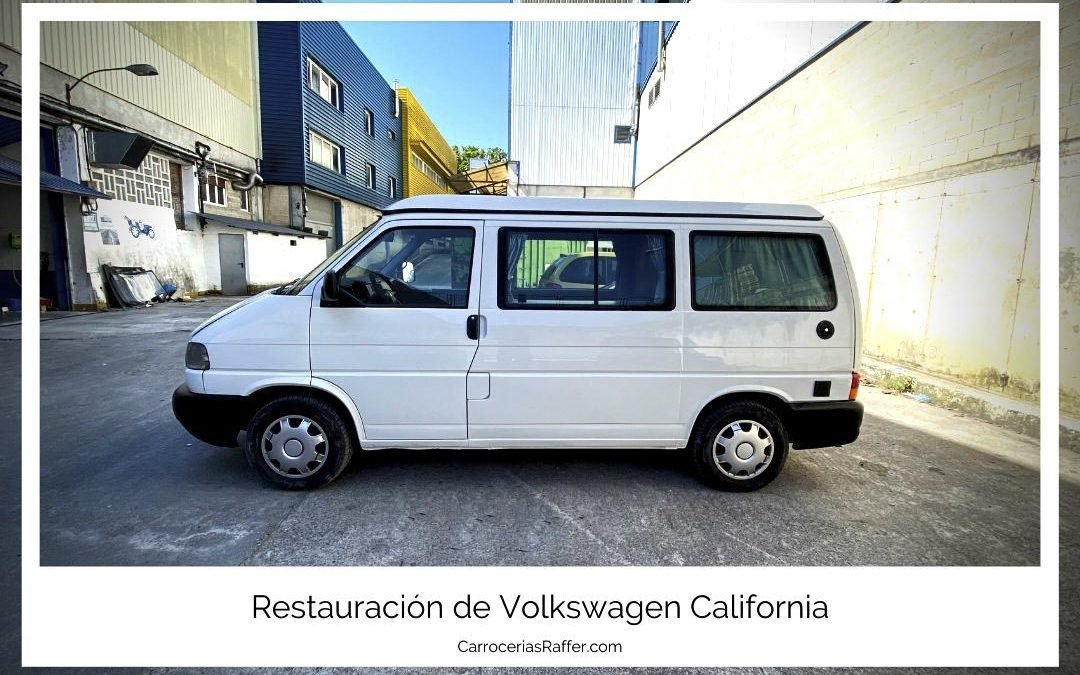 Restauración de Volkswagen California