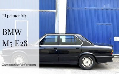 El primer M5 de BMW
