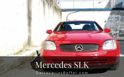 Mercedes Benz SLK Rojo